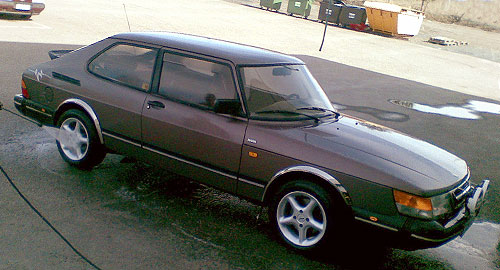 My Saab 900 is gone. saab-9001. Somebody took it from our yard,