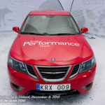 Saab Performance Team Car on Show