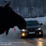 Doing The Moose Test - Saab 9-5 Aero XWD