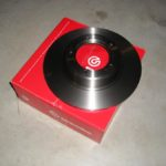 NOS brake disks Saab 96 V4