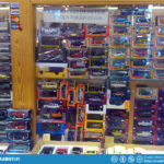 The toy store at Vehoniemi usually has a nice collection of Saab toys availlable also.