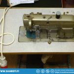 An old Mitsubishi DU-108 industrial sewing machine I bought...