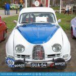 Pasi Koskinen's Saab Sport historic series rally car.