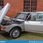 A super nice condition Saab 99 Turbo.