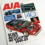 AJA 1 1989. Erikoisnumero Scan-Auto 40 vuotta. 6 €.