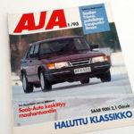 AJA 1 1993. Mapitusreiät. 2 €.