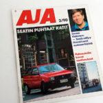 AJA 2 1990. Mapitusreiät. 2 €.