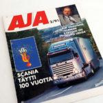 AJA 2 1991. Mapitusreiät. 2 €.