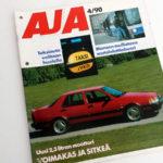 AJA 4 1990. Mapitusreiät. 2 €.