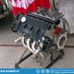 Saab 99 16-valve racing engine. Not cheap...