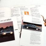 Saab on turvallisin. A4 6s. 3 €.