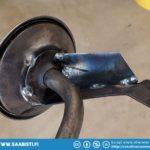 Strengthening the oil pump suction tube.