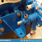 Water pump installed.