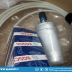 I bought a new Bosch original fuel pump and also a length of new polyamide fuel line for the injectors.