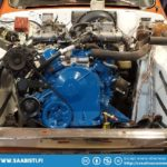 Saab 96 V4 Rally - starting to look like an engine.