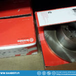 And bought a set of Brembo brake discs front and back.