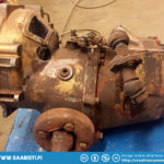 Saab Sport competition gearbox to be inspected and repaired.